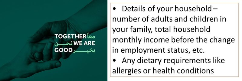 Free psychological food support in the UAE