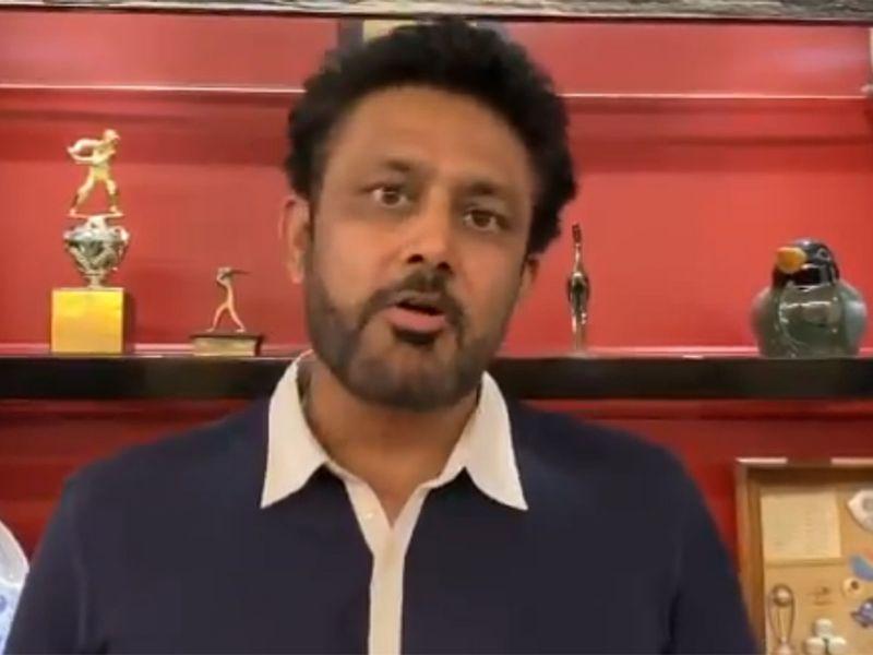 Anil Kumble speaks