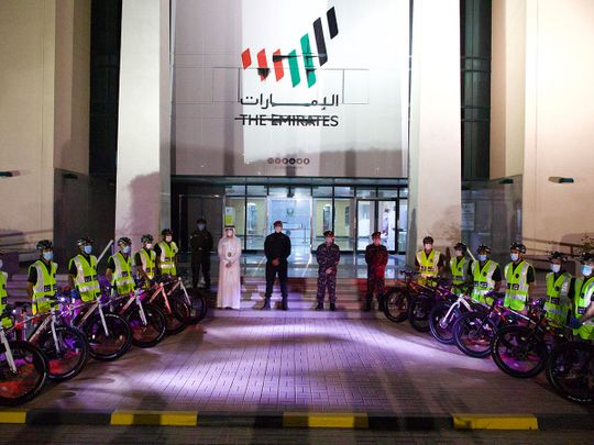 Bicycle police patrols launched in Ras Al Khaimah