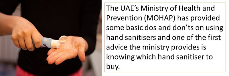 Follow these basic hand sanitiser guidelines to stay safe during coronavirus