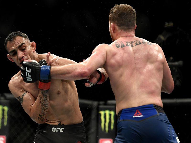 Justin Gaethje beat Tony Ferguson at UFC 249