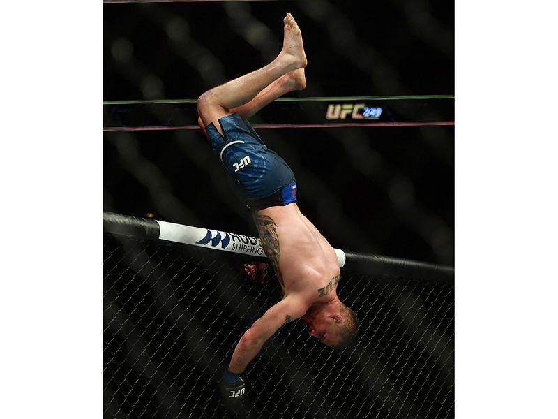 Justin Gathje beat Tony Ferguson at UFC 249
