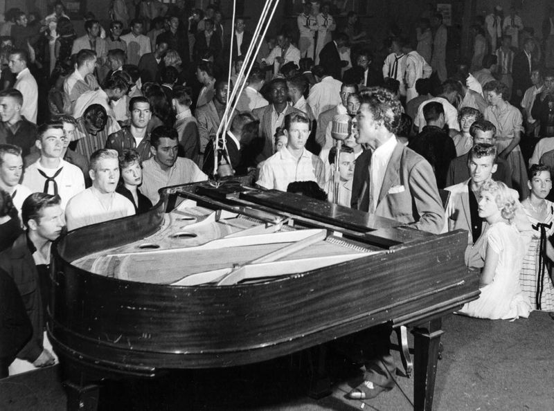 Little Richard performing
