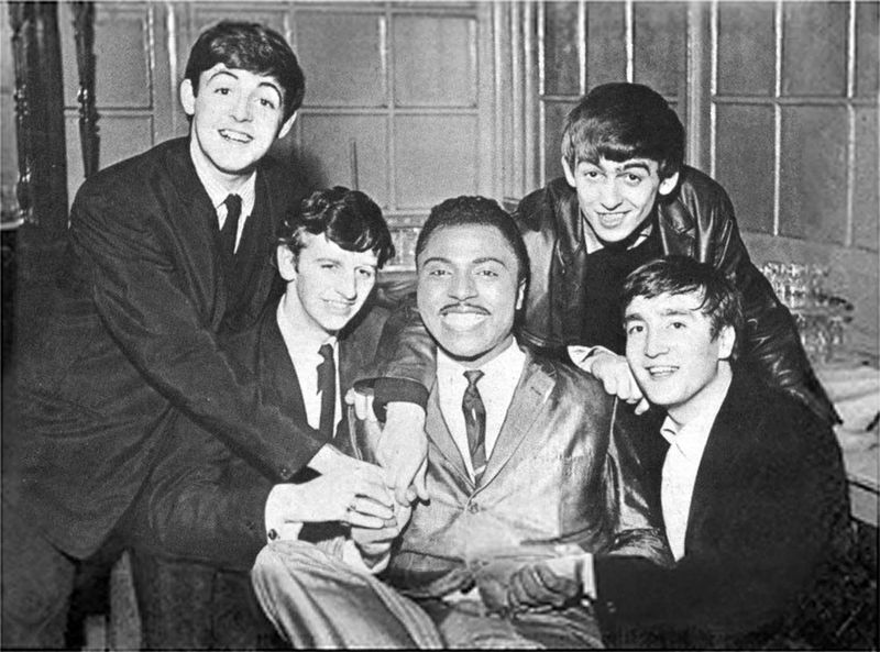 Little Richard with The Beatles