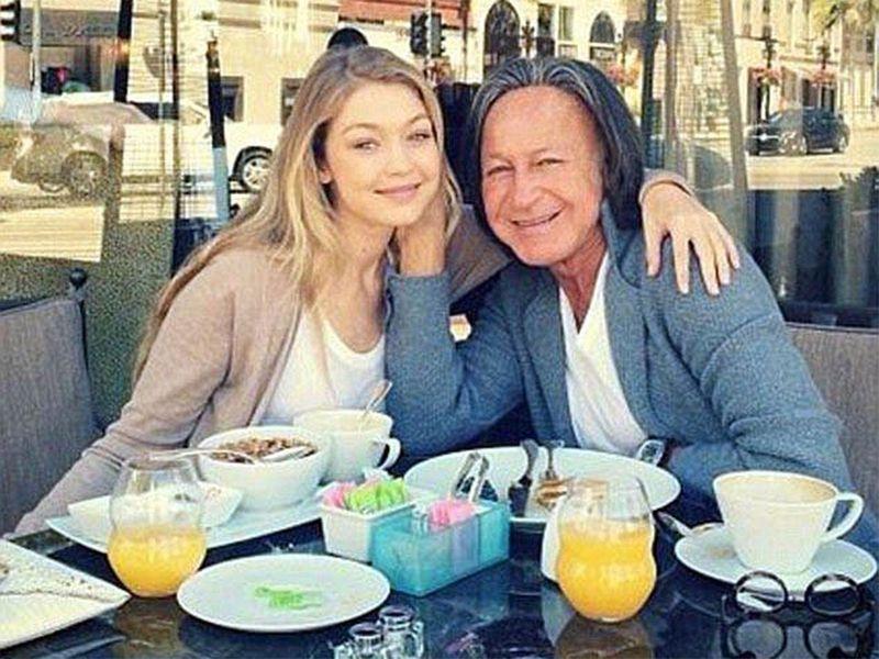 Mohamed Hadid and  Gigi Hadid