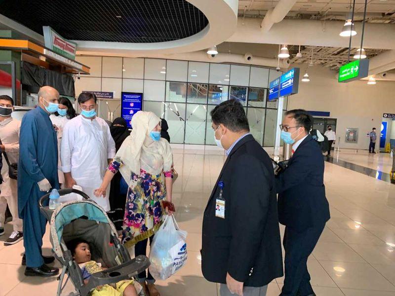 Pak passengers