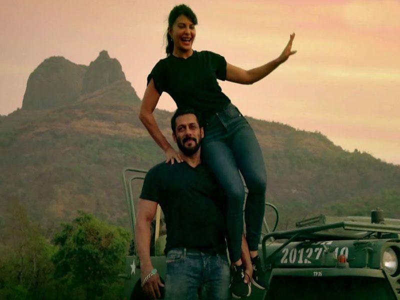Salman Khan and Jacqueline Fernandez