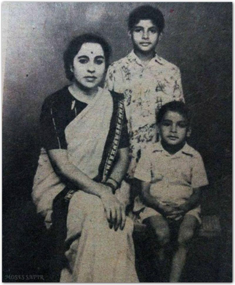 Teji and Amitabh Bachchan