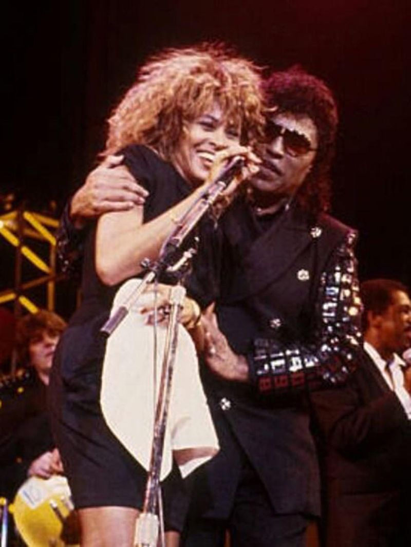 Tina Turner and Little Richard