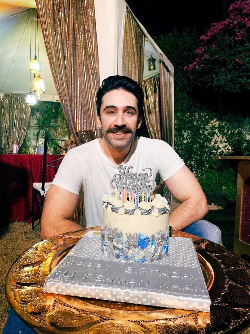 Ali Rehman celebrates his birthday-1589181396910