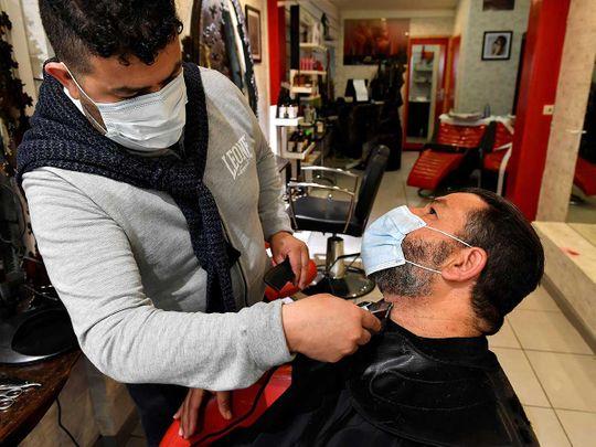 Barber salon France