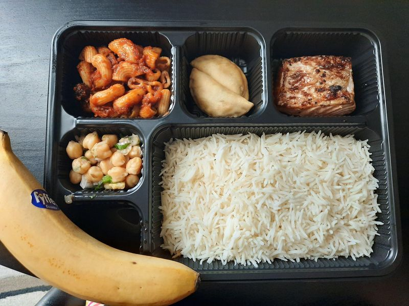 Meals at quarantine facility