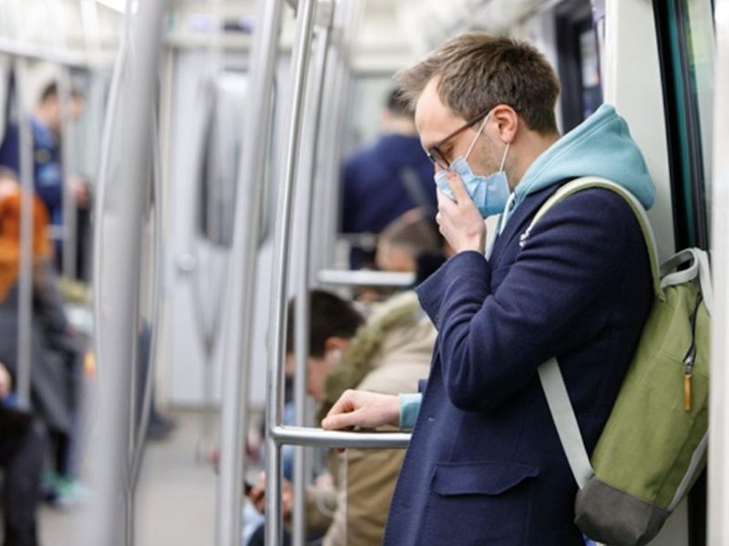 Trains and buses in the UK will have limited capacity during the coronavirus pandemic restrictions.