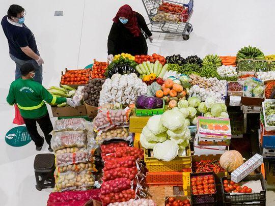 A scene from Dubai Waterfront Market