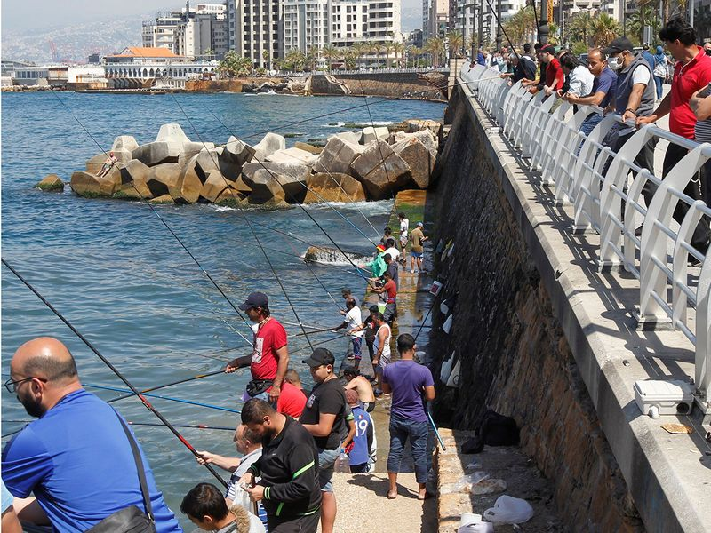 Lebanon fishing