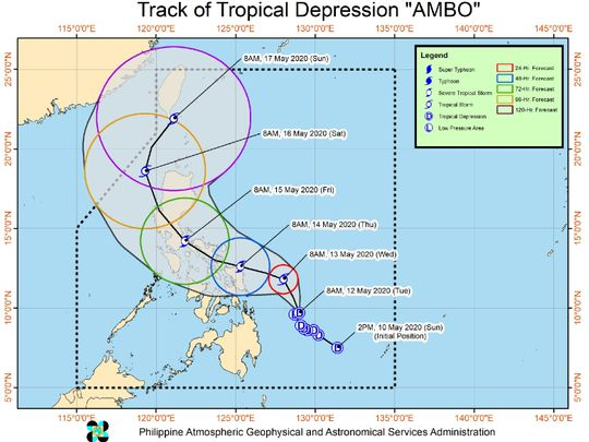 Ambo tropical depression
