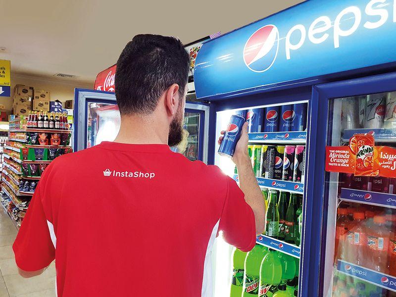 InstaShop Pepsi