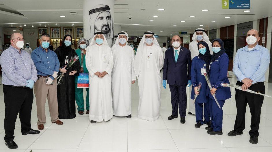 NAT 200513  Nurses Day celebration at Rashid Hospital organised by National Air Cargo2-1589374967613