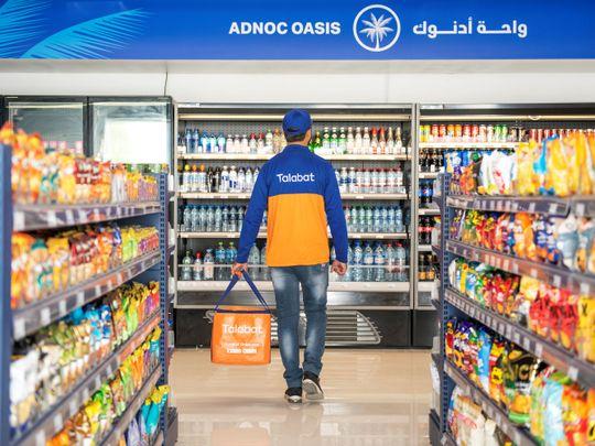 Adnoc convenience store