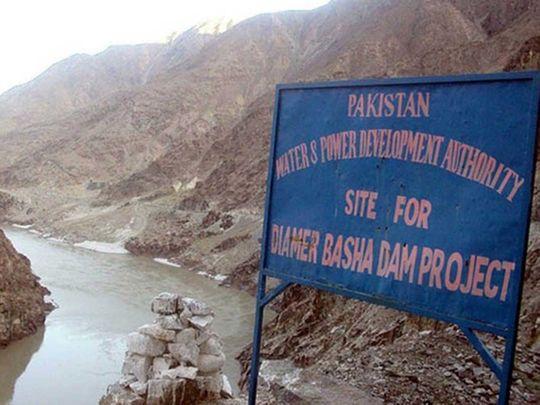 Bhasha dam