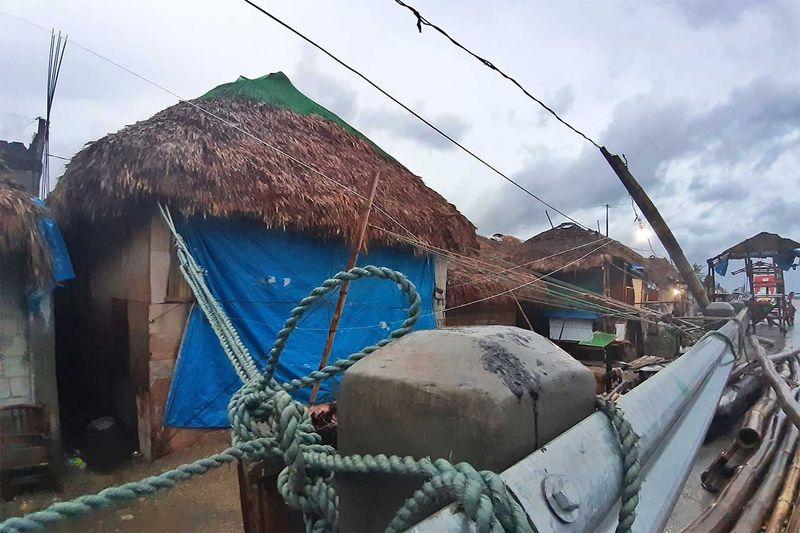 Bulan Philippine Typhoon