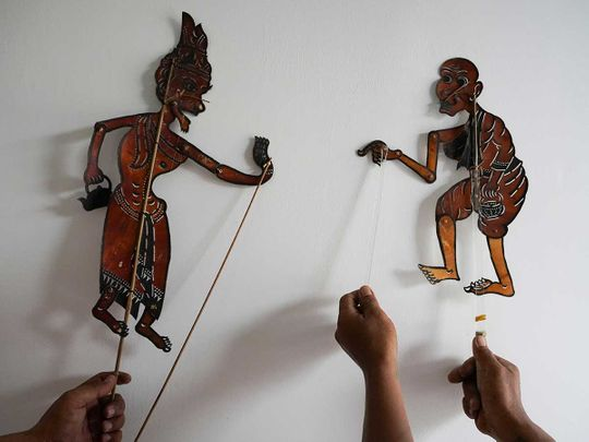 Cambodian puppet artists Sovana Phum Theatre
