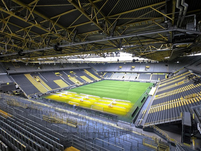 Dortmund's stadium will be empty on Saturday