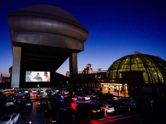 Drive-in cinema Dubai