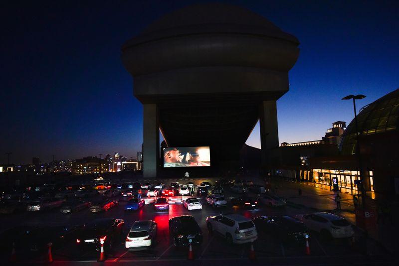 Dubai's new drive-in cinema