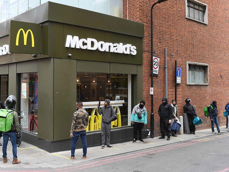 London Mcdonalds