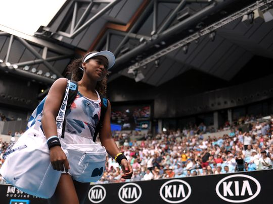 Naomi Osaka is stepping out of her own shadow