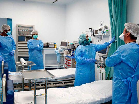Qatar field hospital