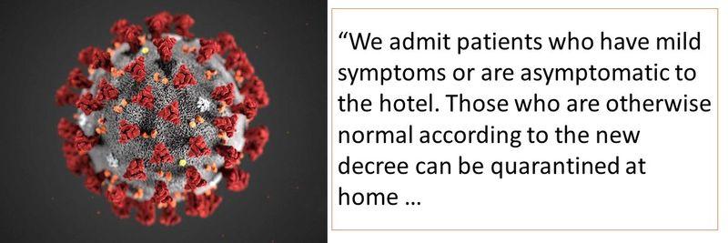 Quarantine hotels 11-20