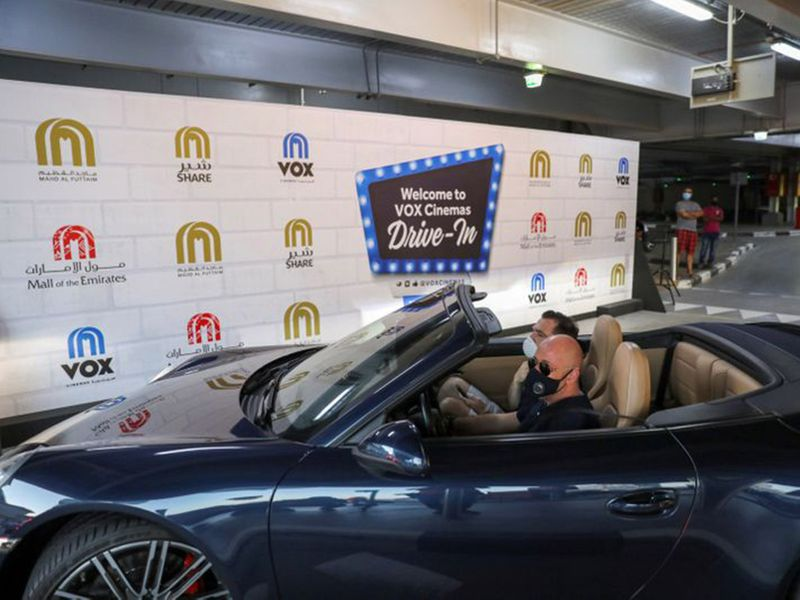 Sneak peek of Dubai's new drive-in cinema