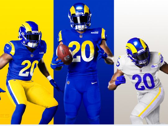 The new LA Rams uniform has not gone down well with fans.