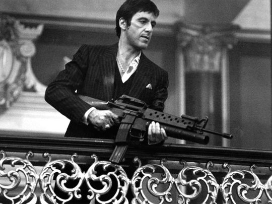 Al Pacino in Scarface (1983)-1589539036005