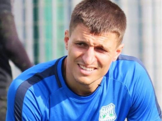 Turkish footballer Cevher Toktas