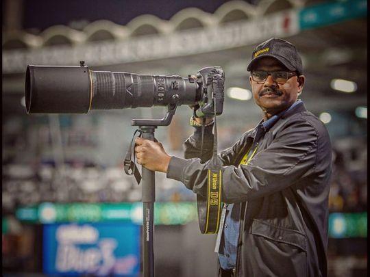 UAE local sports photographer Saleem Sanghati