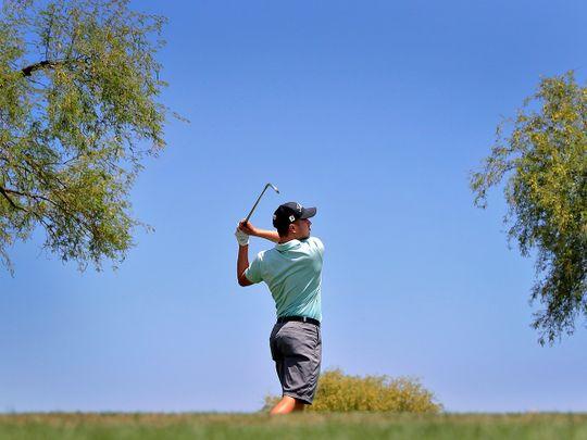 Zach Smith on his way to victory at Scottsdale, Arizona