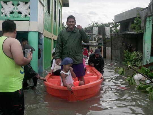typhoon Vongfong  Philippines