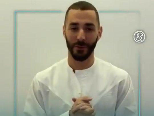 Karim Benzema in the DSC campaign