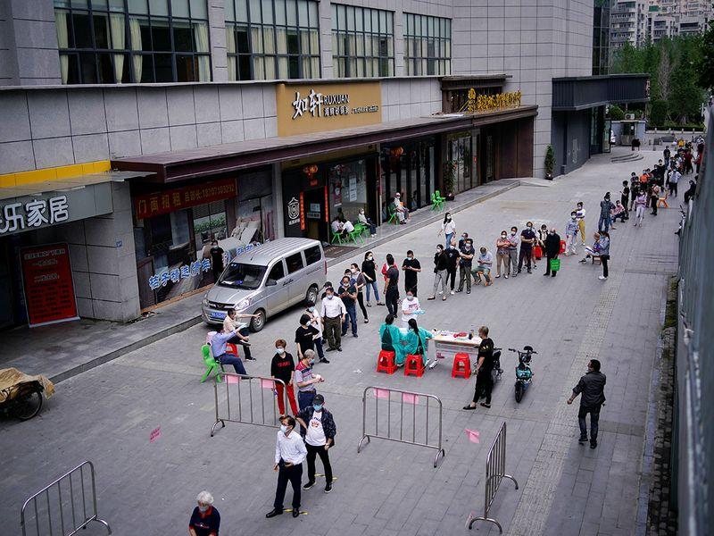 Wuhan testing