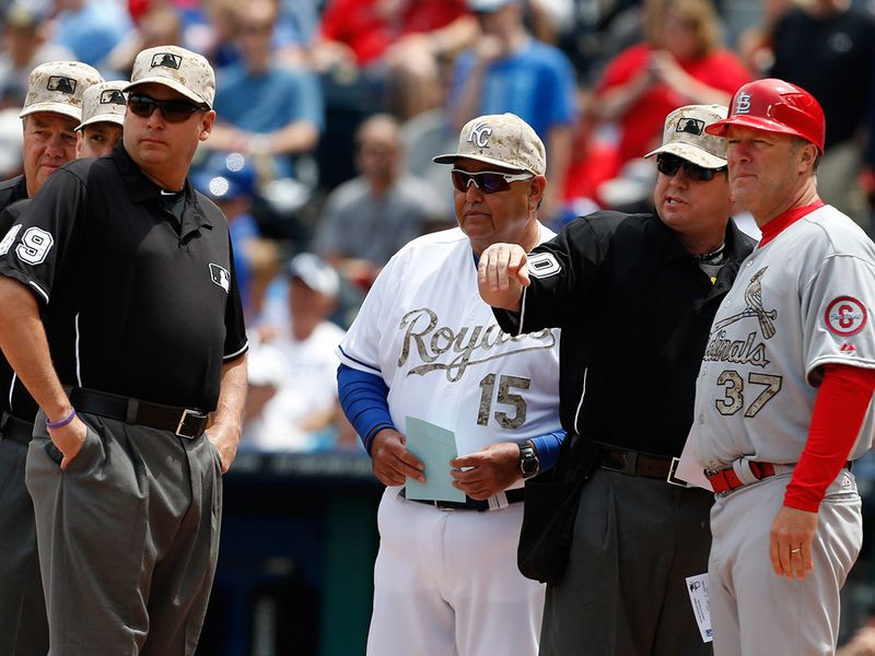 The exchange of lineup cards will be eliminated, and managers and coaches must wear masks while in the dugouts under new MLB protocols.