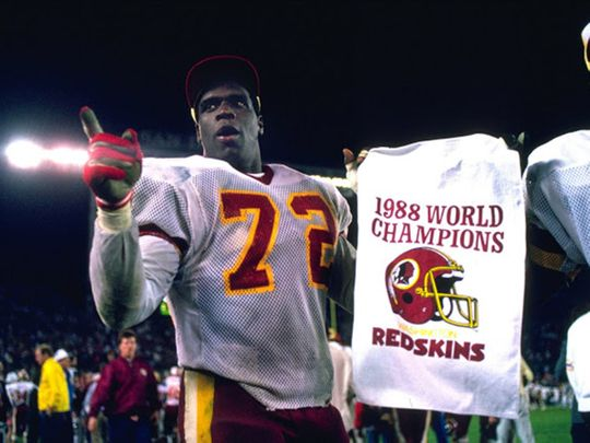 Dexter Manley won the Super Bowl with the Redskins in 1988