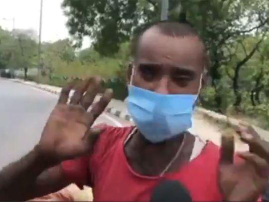 Video by Indian journalist, Salman Ravi, went viral