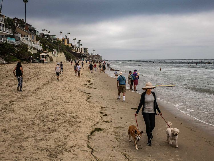 Parks and beaches reopen in Europe as summer hits whereas, springs hits US