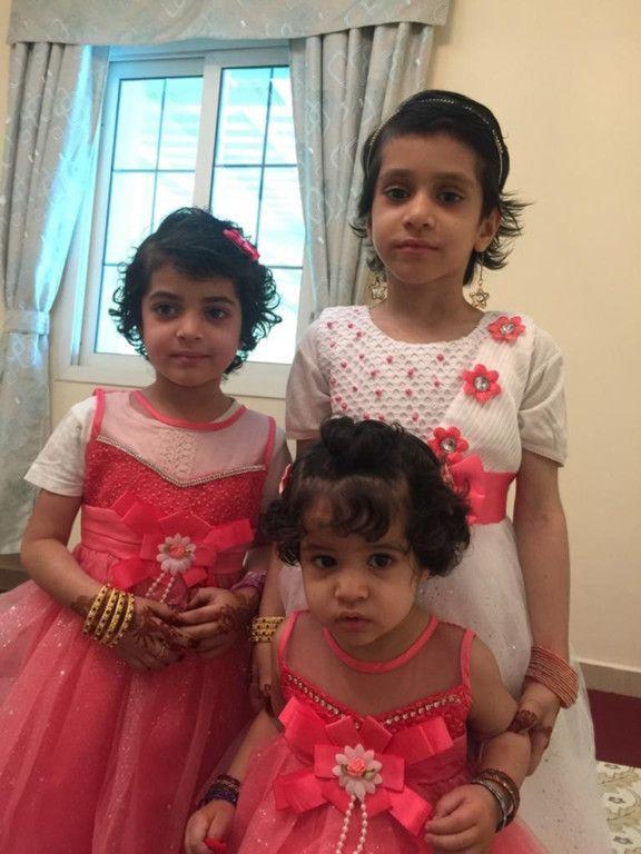 NAT 200518 Afghan siblings Nadira, 6,  Farishta, 9, and four year old Ayesha-1589785442150
