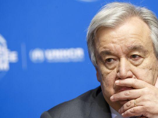 WLD UN General Antonio Guterres-1589816761198