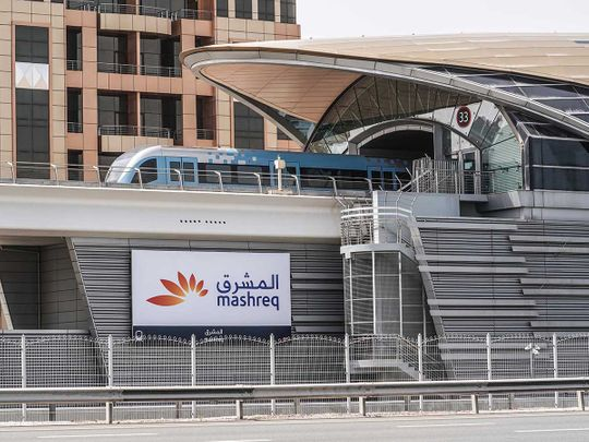 mashreq bank station