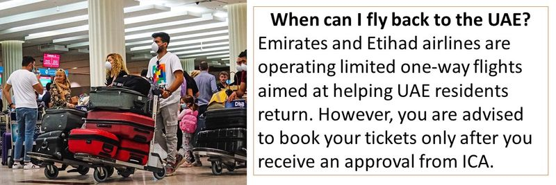 If you are an expat stuck outside the UAE, there is good news. Starting June 1, 2020, some individuals with valid residence visas will be allowed to return to the country.  Here is how you can apply.